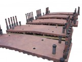河北随型高炉铜冷却壁