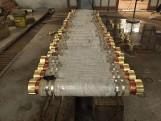 河北电石炉铜水冷连接件